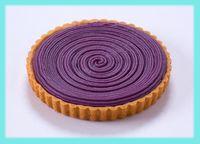 人気 ランキング<br><span style='color:#0000ff;'>冷凍生菓子 3位</span><br><strong>紅いもタルトケーキ </strong>の画像