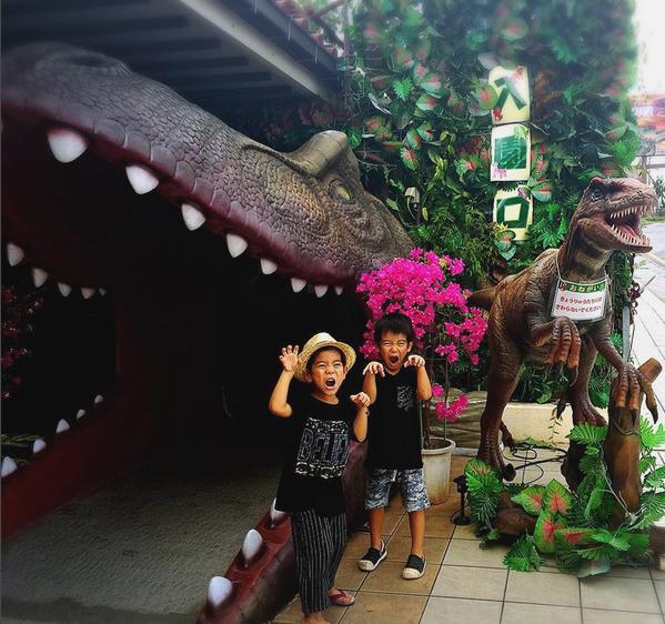 DINO恐竜PARK 最高で賞