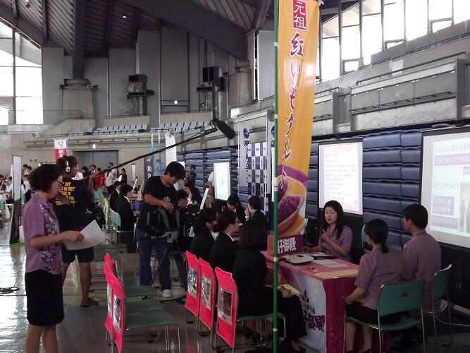 同友会合説&ジョブアンテナTV撮影