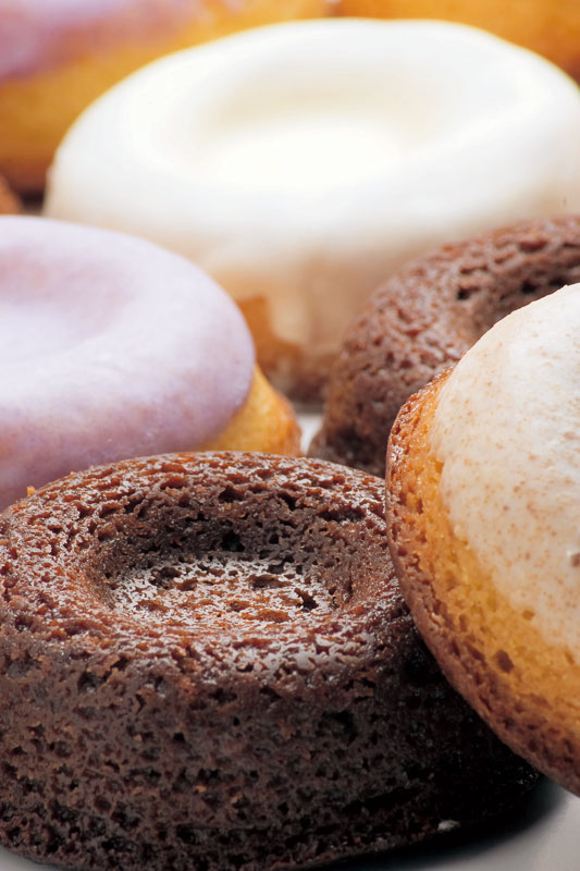 【イメージ】焼きドーナツ