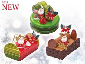 ▲2018年新作クリスマスケーキ▲