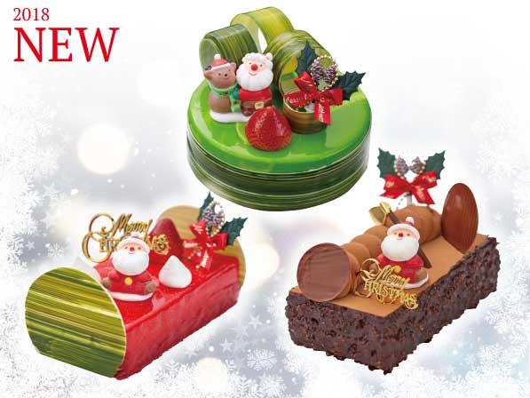 2018新作クリスマスケーキの画像