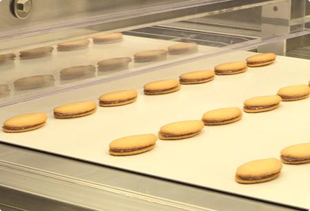 読谷本店のアーモンドチョコレートサンドラインの写真