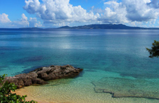 海辺の写真