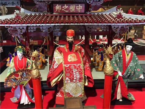 文化や歴史を知る事ができる人形展