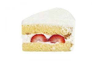 フレッシュクリームケーキカット画像