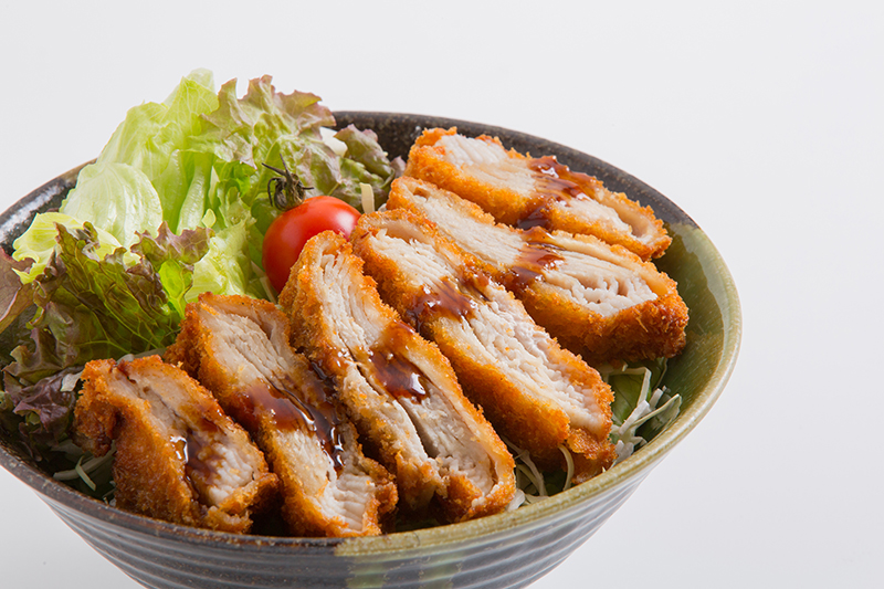 島豚のミルフィーユカツ丼