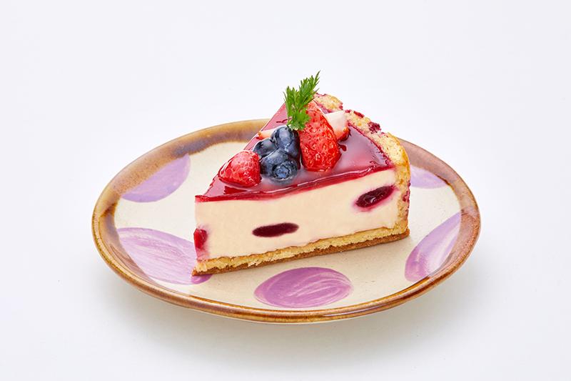 べリーのレアチーズケーキ
