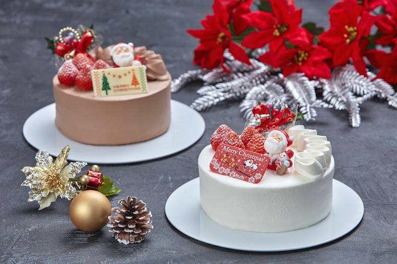 御菓子御殿のクリスマスケーキ2021の画像